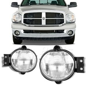 07 dodge ram fog lights ebay. Black Bedroom Furniture Sets. Home Design Ideas