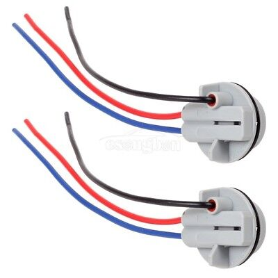 (1157 2057 2357 Female Plug Wiring Harness Sockets Wire For Front Turn Signal)