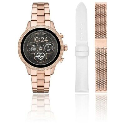 Michael Kors Access  MKT5060  Rose Gold Touch Screen Runway Smartwatch 41MM