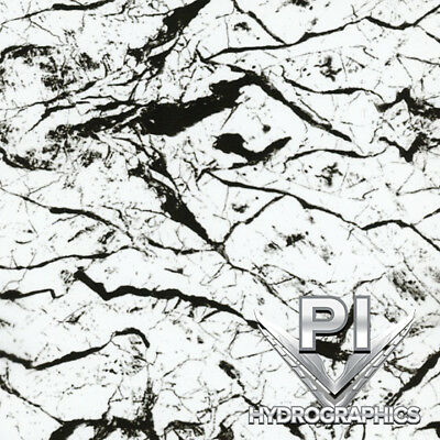 Hydrographic Film Hydro Dipping Water Transfer Printing Black Marble Ms995