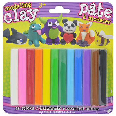 Modeling Clay Set for 3+ Kids - 12 Colors 3
