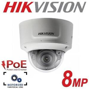 NEW HIKVISION DOME SECURITY CAMERA DS-2CD2785FWD-IZS 201307780 2.8 TO 12mm IP OUTDOOR EXIR VF NETWORK WEATHERPROOF SU...