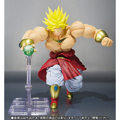 S.H. Figuarts Dragonball Z Broly action figure Tamashii Exclusive Bandai