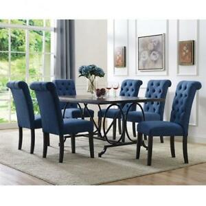 Modern Rectangular 7 PC Dining Set on Sale (BD-1811)