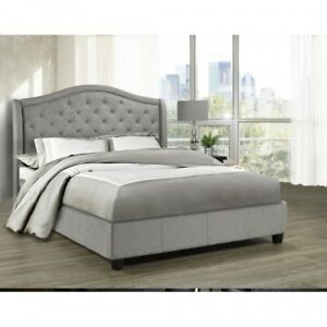 BRAND NEW QUEEN SIZE PLATFORM BED (NO BOX SPRING NEEDED) READ B4