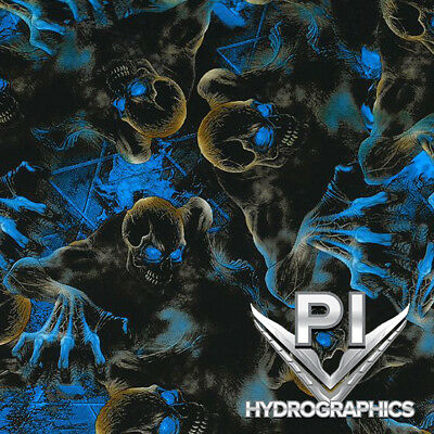 Hydrographic Film Hydro Dipping Water Transfer Printing Film Blue Creeper Dd946