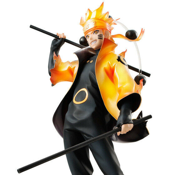 New Uzumaki Naruto Shippuden Sage Sennin Mode Action Figure