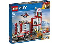 UNOPENED LEGO 60215 - Fire Station