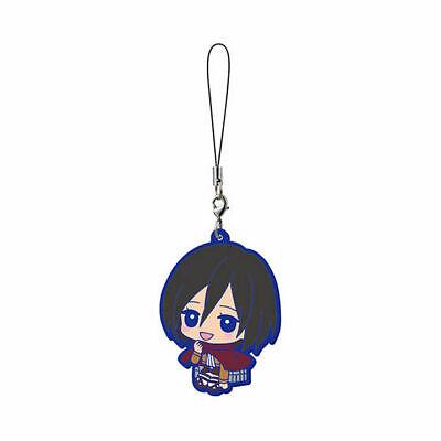 Attack on Titan Mascot Rubber Anime Strap Keychain Charm~Mikasa Ackerman @29181 segunda mano  Embacar hacia Argentina