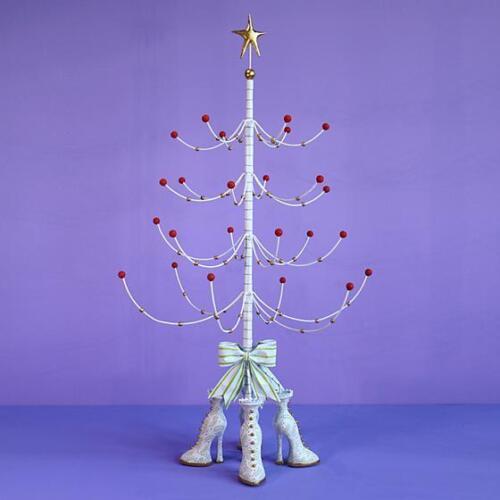 "Patience Brewster 43""H Krinkles Mini Christmas Ornament Decorative Display Tree"