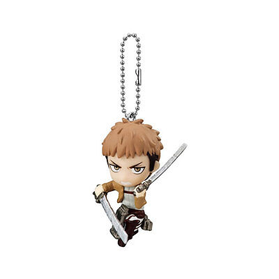 Bandai Attack on Titan Shingeki no Kyojin Vol 1 Key chain Swing Mascot Figure