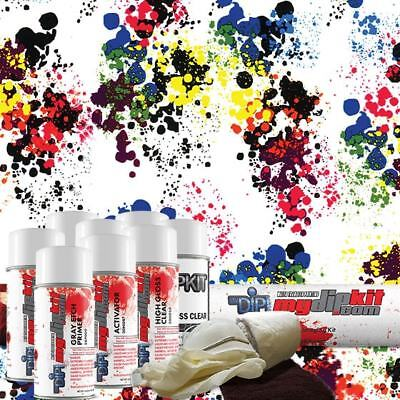 Hydro Dipping Water Transfer Printing Hydrographic Dip Kit Paint Splatter Dd-967