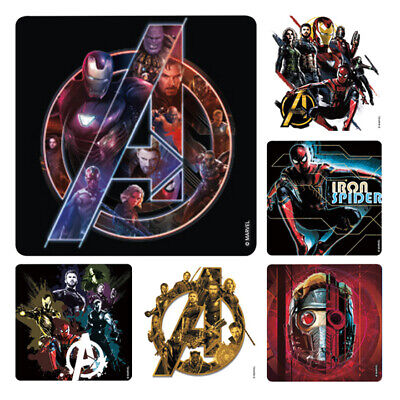 Avengers Party Ideas (Avengers Infinity War Stickers x 6 - Birthday Party Supplies Favours Loot)