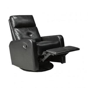 Leather Rocker - Recliner Chair (BD-1901)