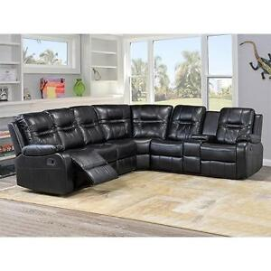 LEATHER SECTIONALS SOFA SETS ON SALE (AD 650)