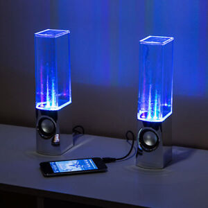 Wired Dancing Water Speakers- Good Condition