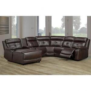 LEATHER SECTIONAL SOFA SETS ON SALE (AD 648)