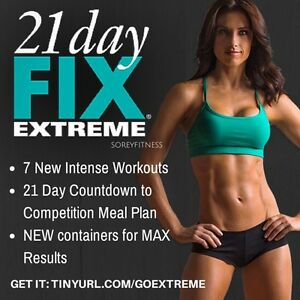 Looking for 21 day fix extreme DVD