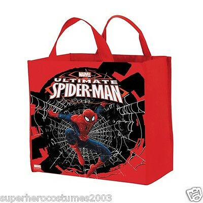 Ultimate Spider-Man Gusseted Pellon Treat Bag Marvel Comics Brand New 57731](Halloween Spider Treats Make)