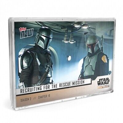 2020 Topps Now Mandalorian 5-Card Set Chapter 16 Season 2 THE RESCUE-In Hand
