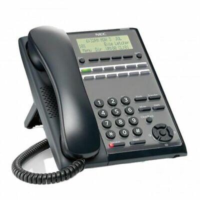 Nec Sl2100 Phone Ip7ww-12txh-b1 Telbk C Be117451 Black Refurb 1 Year Warranty