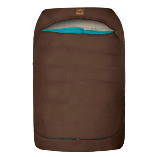 Kelty TruComfort Doublewide Tru Comfort Double Sleeping Bag 20* for 2 NEW brown