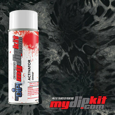 Hydrographic Water Transfer Film Dipping Activator Combo Prym1 Black Out Rc411