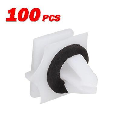 AUTEX 100x Rocker Panel Moulding clips retainer For GM Avalanche 2002-on Replace