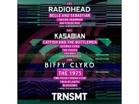 2 x Friday TRNSMT tickets Glasgow. Transmit.