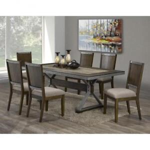 DINING TABLE FURNITURE SALE - CONTEMPORARY - VISIT WWW.KITCHENANDCOUCH.COM | CALL -905-451-8999 | FREE SHIPPING (BD-133)