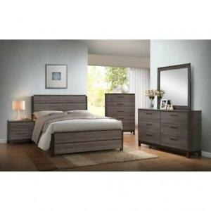 GREY BEDROOM SETS | BEDROOM FURNITURE SALE HAMILTON (BD-386)