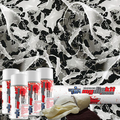 Hydro Dipping Water Transfer Printing Hydrographic Film Dip Kit Illusion Dd-924