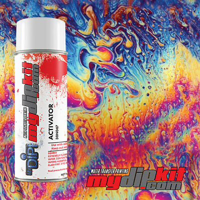 Hydrographic Activator Hydro Dipping Water Transfer Film Combo Oil Slick Dd301