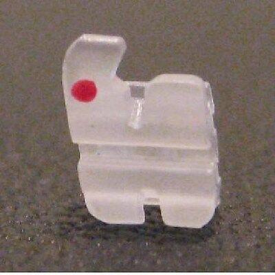 New Dental Orthodontic Roth .022 Ceramic Bracket Braces Made In Usa