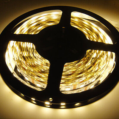 12V Warm White 5M 300leds 5050 SMD LED Strip Lights For DJ KTV Room Decoration on Rummage