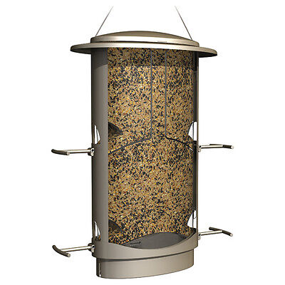 More Birds 11 Squirrel-Proof X1 Bird Feeder with 4 Feeding Ports, 4.2 Lb