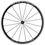 Shimano voorwiel Dura Ace 28 inch WH R9100 velgrem chroom