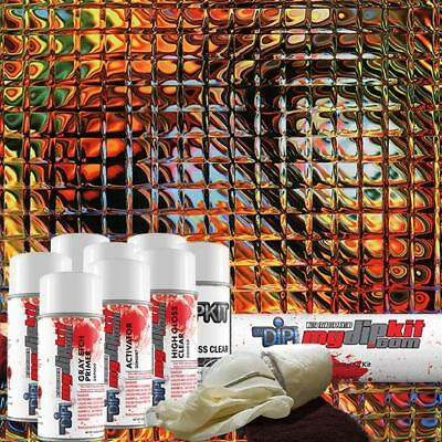 Hydro Dipping Water Transfer Printing Hydrographic Dip Kit Cubix Cube Dd-965