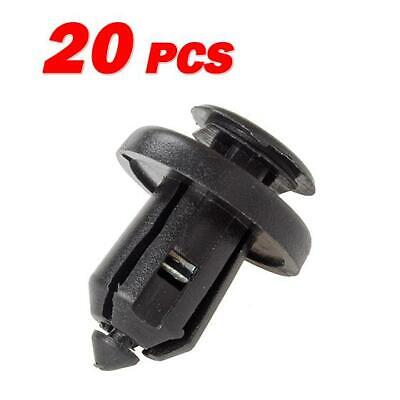 Set of 20 for Honda for Acura Push-Type Bumper Fender Metal Retainer Clips