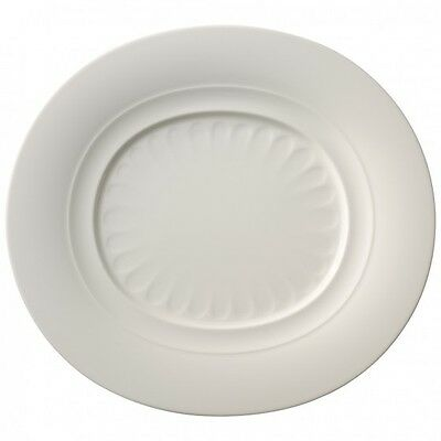 Villeroy & and Boch FARMHOUSE TOUCH RELIEF gourmet plate 32x29cm NEW NWL...