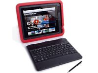 BRAND NEW GRIPCASE SCRIBE CASE AND KEYBOARD FOR IPAD, RED OR BLUE