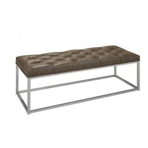 Home Accent Leather Bench on Sale (BD-1891)