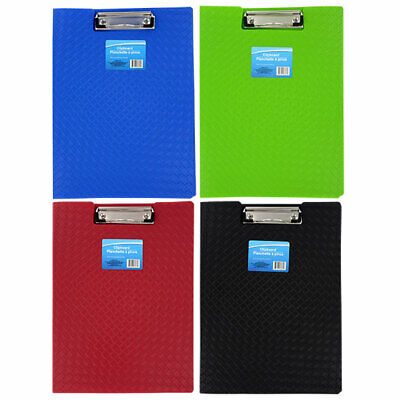PLASTIC FOLDER CLIPBOARD COLOR FULL LETTER SIZE Blue Green Red Black*You choice