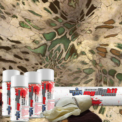 Hydro Dipping Water Transfer Printing Hydrographics Camo Dip Kit Prym1 Mp Rc-410