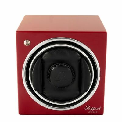 RAPPORT WATCH WINDER  EVO 06 RED/CRIMSON BRAND NEW GUARANTEED FREE SHIPPING