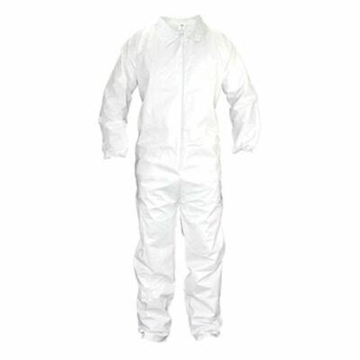 Sas 6852 Medium Safety Coverall Paint Suit - Reusable Moon Suit - White