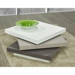 Rotatable layer upon layer coffee table (BR270)