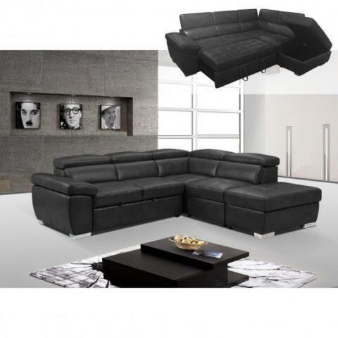 Blow Out Sale brand new Modernsectional sofa bed with storage space saver
