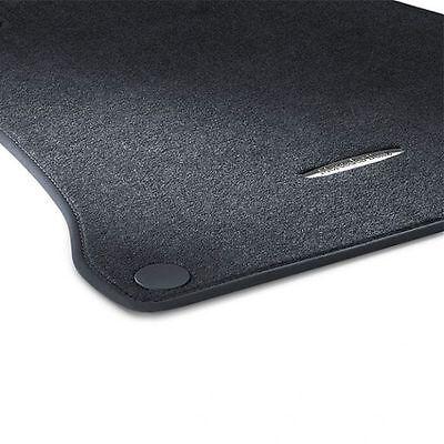 TYPISCH GRAU Velours Matten Autoteppiche MERCEDES S-KLASSE W222 ab 2013