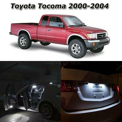 7x White LED Light Interior Dome Bulb License Package for Toyota Tacoma 95-2004